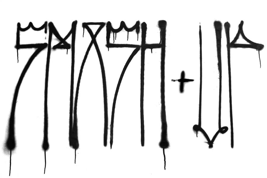 Smash Up - lettering